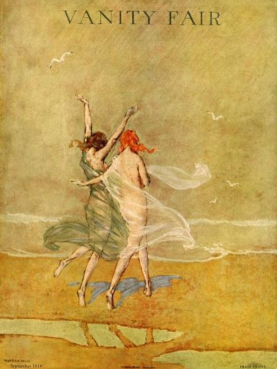 Vanity Fair Cover - September 1918-Warren Davis-Premium Giclee Print