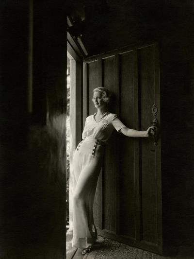 Vanity Fair - February 1935-Maurice Goldberg-Premium Photographic Print