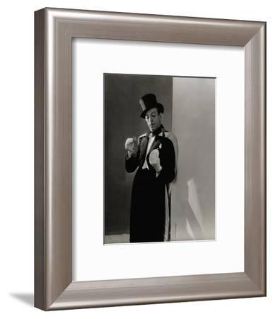 Vanity Fair - February 1935-Lusha Nelson-Framed Premium Photographic Print
