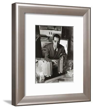 Vanity Fair - February 1936-Lusha Nelson-Framed Premium Photographic Print