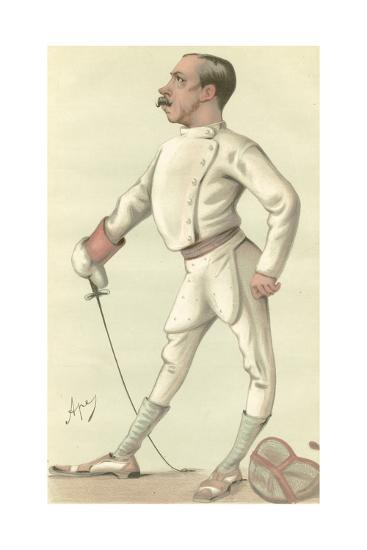 Vanity Fair Fencing-Spy-Art Print