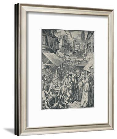 'Vanity Fair. From 'The Pilgrim's Progress' (John Bunyan)', c1850-1890, (1923)-John Dawson Watson-Framed Giclee Print