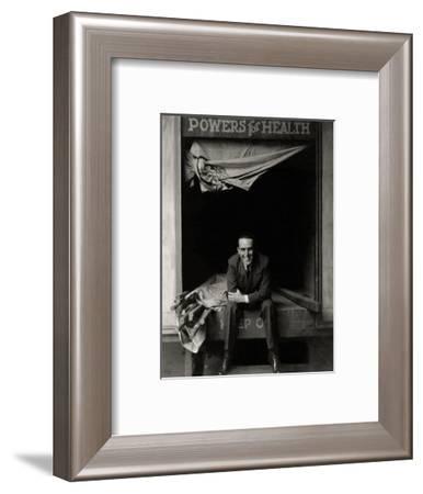 Vanity Fair - January 1928-Edward Steichen-Framed Premium Photographic Print