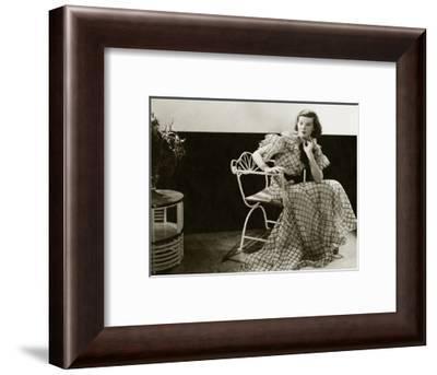 Vanity Fair - January 1934-Lusha Nelson-Framed Premium Photographic Print