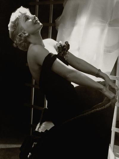 Vanity Fair - July 1935-Lusha Nelson-Premium Photographic Print