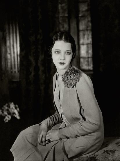 Vanity Fair - June 1927-Florence Vandamm-Premium Photographic Print