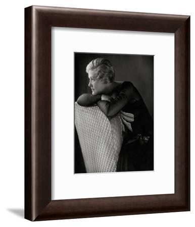 Vanity Fair - March 1929-Edward Steichen-Framed Premium Photographic Print