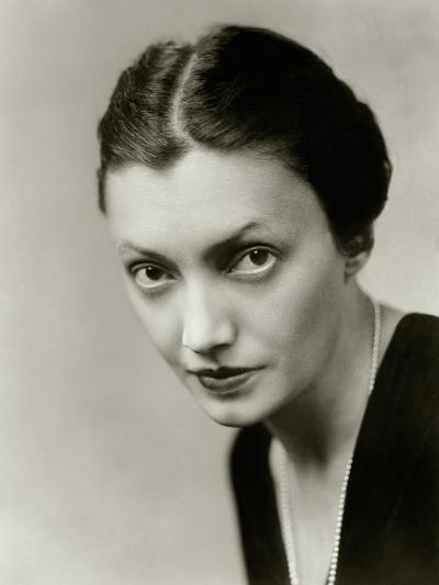 Vanity Fair - October 1931-Florence Vandamm-Premium Photographic Print