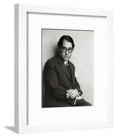 Vanity Fair-Florence Vandamm-Framed Premium Photographic Print