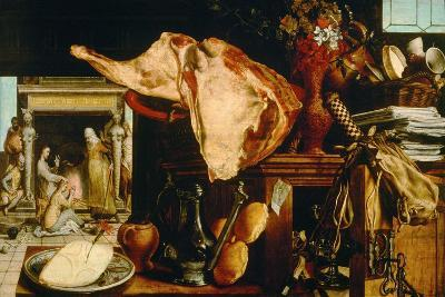Vanity Still Life (Christ in the House of Martha and Mar), 1552-Pieter Aertsen-Giclee Print