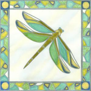 Luminous Dragonfly I by Vanna Lam