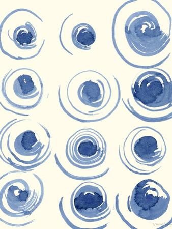 Macrame Blue II by Vanna Lam
