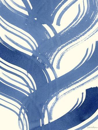 Macrame Blue IV by Vanna Lam