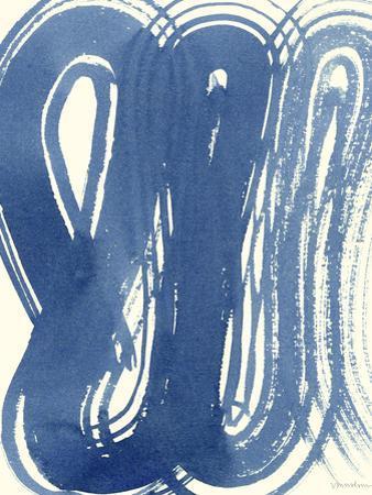Macrame Blue V by Vanna Lam