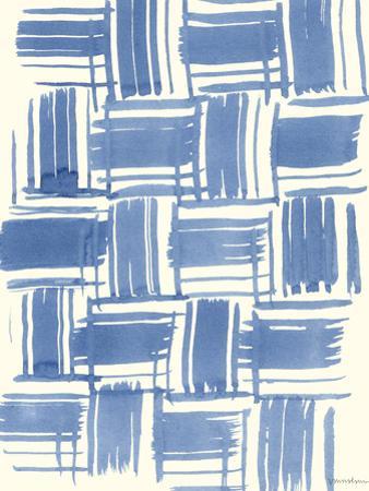 Macrame Blue VI by Vanna Lam