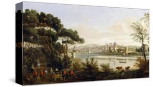 View of Florence, Palatine Gallery, Palazzo Pitti, Florence by Vanvitelli (Gaspar van Wittel)