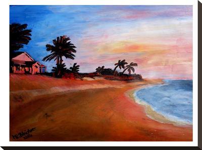 Varadero 2-M Bleichner-Stretched Canvas Print