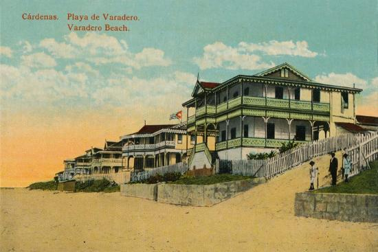 Varadero Beach, Cardenas, Matanzas, Cuba, c1924-Unknown-Giclee Print