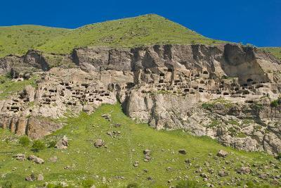Vardzia Cave City, Monastery in Georgia, Caucasus-Michael Runkel-Photographic Print