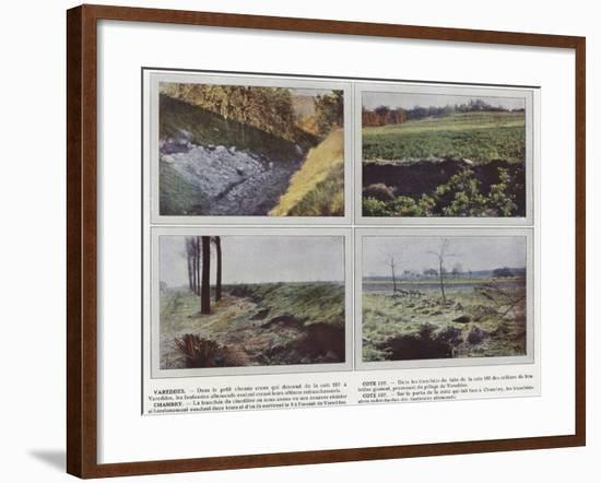 Vareddes, Cote 107, Chambry, Cote 107-Jules Gervais-Courtellemont-Framed Photographic Print