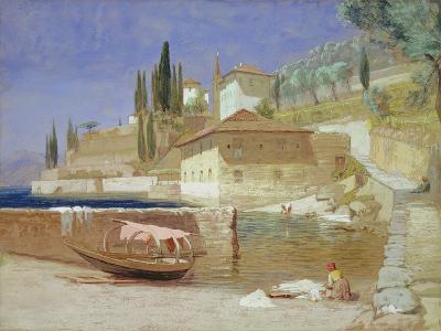 Varenna, Lake Como-Frederick Lee Bridell-Giclee Print