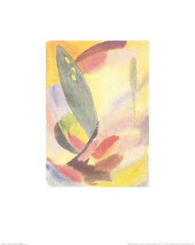 Variation: Lone Green Tree, c.1917-18-Alexej Von Jawlensky-Art Print