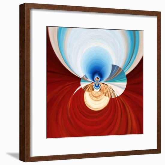 Variations On A Circle 11-Philippe Sainte-Laudy-Framed Photographic Print