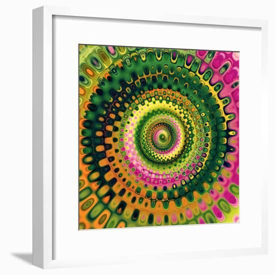 Variations On A Circle 9-Philippe Sainte-Laudy-Framed Photographic Print