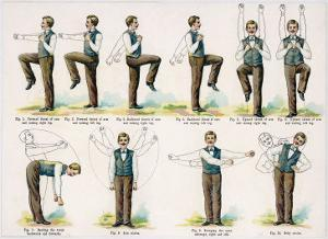 Variety of Body Exercises Requiring No Special Apparatus That Will Keep Any Chap in Good Shape