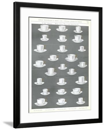 Variety of Cups--Framed Art Print