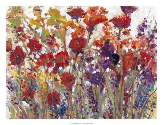 Variety of Flowers I-Tim O'toole-Art Print