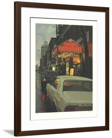 Variety Photoplays-Davis Cone-Framed Limited Edition