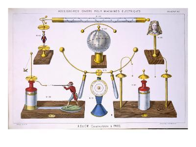 Various Accessories for Electrical Machines--Giclee Print