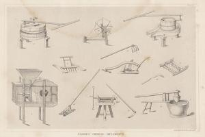 Various Chinese Implements, 1855