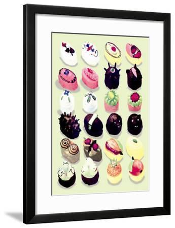 Various Desserts--Framed Art Print