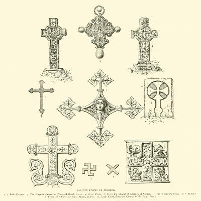 Various Forms of Crosses--Giclee Print