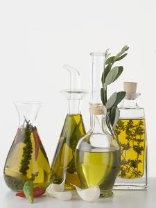 Various Herb and Spice Oils