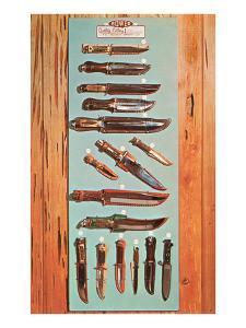 Various Hunting Knives
