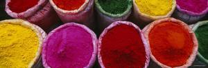 Various Powder Paints, Braj, Mathura, Uttar Pradesh, India