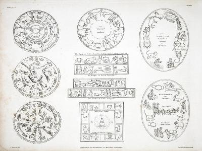 Various Representations of the Zodiac-Alexander Jamieson-Giclee Print
