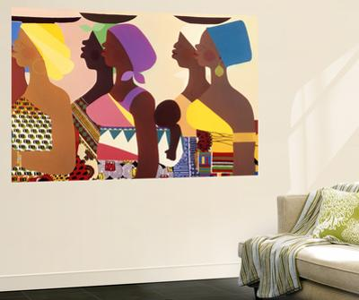African Women by Varnette Honeywood