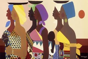 African Women by Varnette Honeywood