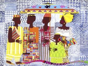 We are African People by Varnette Honeywood