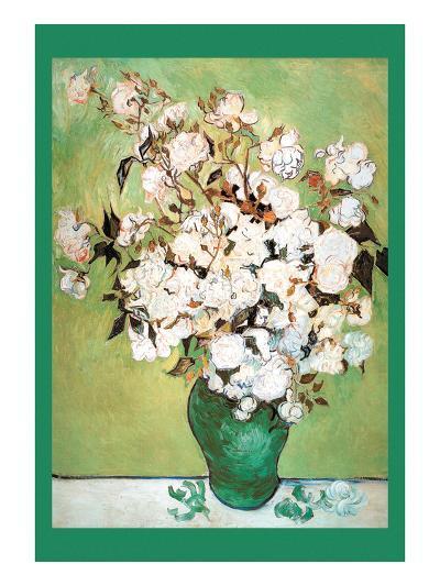 Vase Avec Roses-Vincent van Gogh-Art Print