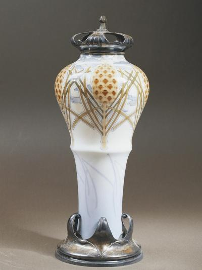 Vase Decorated with Floral Motifs, 1897--Giclee Print