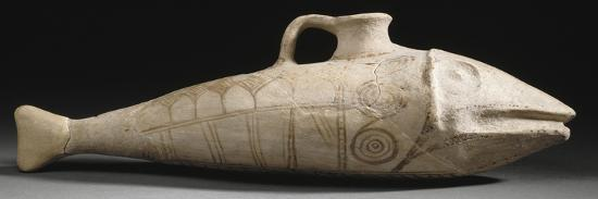 Vase en forme de poisson--Giclee Print