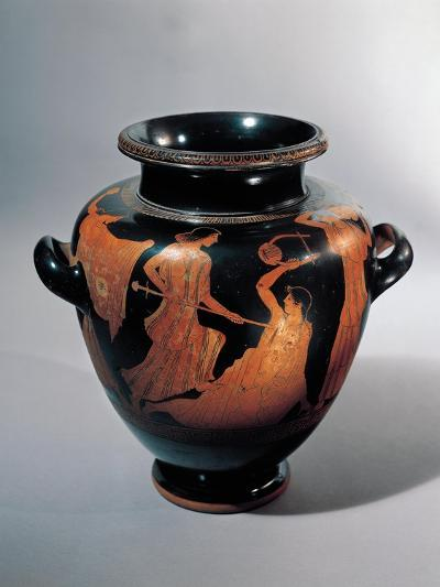 Vase for Keeping and Carrying Wine with Death of Orpheus--Giclee Print