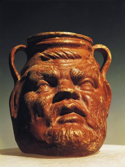 Vase in Shape of Silenus' Head, from Asia Minor--Giclee Print