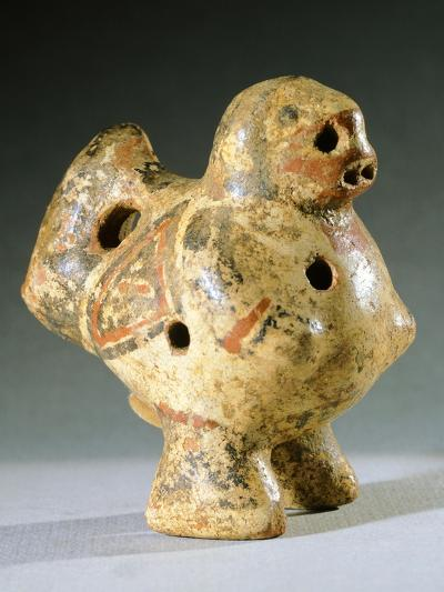 Vase in the Form of an Ocarina, Artifact Originating from Chiriqui--Giclee Print