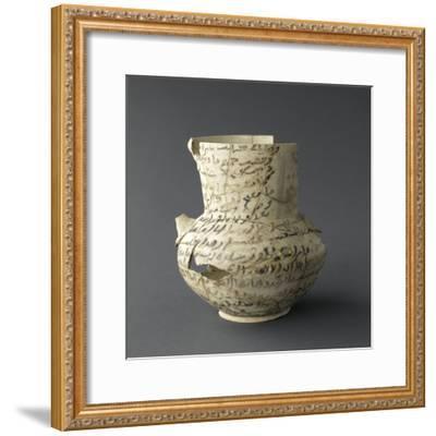 Vase inscrit--Framed Giclee Print